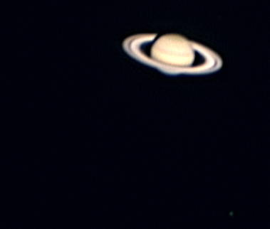 Saturn with Moon