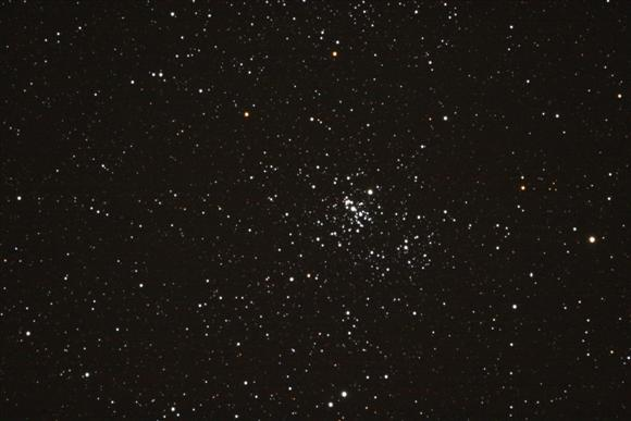 Half a Double Cluster