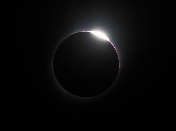 Eclipse 2017 - Diamond Ring